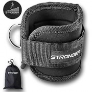 Premium Ankle Strap By Stronger (1 Pk) Maximize Cable Machine Workouts with Durable Cuffs for Ab Leg & Glute Exercises First Rate Fitness Equipment for Women & Men