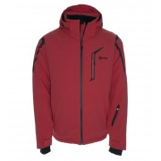 KILPI Pánská lyžařská bunda PELTO BM0018KIRED Červená XL