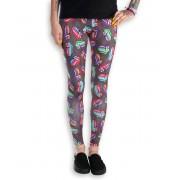 pantalon pour femmes (caleçons longs) Rolling Stones - Zig Zag - AMPLIFIED - Charcoal - AV655ZIG