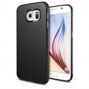 Husa Samsung Galaxy S6 Ringke SLIM SF BLACK+BONUS folie protectie display Ringke