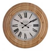 Oak Furnitureland Clocks - Paris Wall Clock - Oak Furnitureland