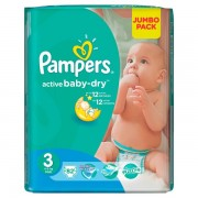 Scutece Pampers 3 Active Baby 4-9kg JB (82)