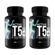 WeightWorld Active T5 - Sterke vetverbrander met hoge kracht gemaakt van natuurlijke ingrediënten - 2 pack