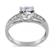 Silvego Stříbrný prsten EXCLUSIVE se Swarovski Zirconia - TWR902535