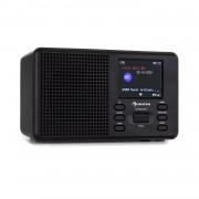 "Auna Commuter, DAB + / FM радио, USB, AUX, 2,4 ""TFT дисплей, дистанционно управление, черно (KC6_Mate BK)"