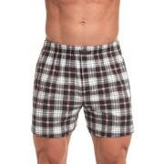 Comfort 167 alsónadrág, szürke, kockás S