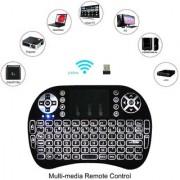 Toshani Air Mouse Keyboard I8 pro white backlit Wireless Keyboard Touchpad Mouse