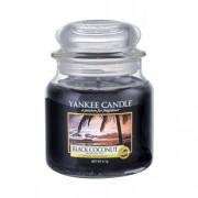 Yankee Candle Black Coconut 411 g vonná sviečka unisex