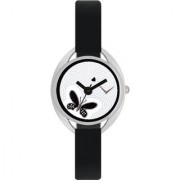 The Shopoholic Awesome Black Designer Butterfly Dial Analog Watches For Women-Watches For Girls