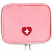 BEGMY Waterproof Travel Outdoor Emergency Conitale Medical First Aid Pouch Kit Storage Bag Organizer(Pink)