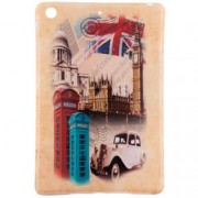 Husa Apple iPad Mini 1 / 2 Silicon Gel TPU London Compilation