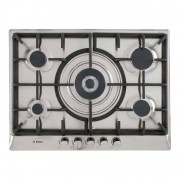 Bosch Serie 6 Classixx PCQ715B90E 5 Burner Gas Hob - Stainless Steel