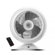 Вентилаторна печка Rowenta HQ7112F0, за помещения 40-45m², студен вентилатор, електронен термостат, дистанционно управление, таймер, 2600 W, бял
