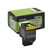 Lexmark 802SY toner amarillo