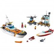 Sediul central al Garzii de coasta Lego City
