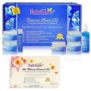 Pack of 2 Diamond Skin Whitening Facial Kit-By Nutriglow
