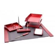 Set pentru birou Wood Art cu 6 accesorii