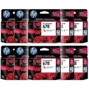 HP 678 Tri-color ( CZ108AA) Original Ink Advantage Cartridge Pack Of 60 Numbers
