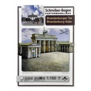 Schreiber - Bogen The Brandenburg Gate Card Model