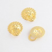 Free Shipping 10PCs Golden Jewelry Wooden Box Pull Handle Dresser Drawer For Cabinet Door Round 23mm F1095
