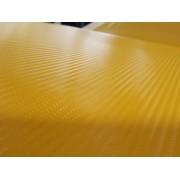 Rola folie carbon 3D galben TAXI latime 1.27m x 30m