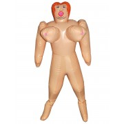 Boneca insuflável peito grande 150 cm