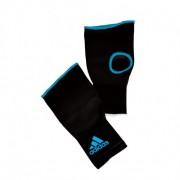 Adidas Binnenhandschoenen Zonder Bandage Zwart / Blauw - L