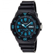 Casio Enticer Analog Black Dial Mens Watch - MRW-200H-2BVDF (A742)