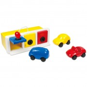 Ambi Toys Lock-up Garage with Toy Vehicles 3931079