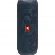 Boxa portabila JBL FLIP 5, Wireless Bluetooth, PartyBoost, USB C, Powerbank 4800mAh, IPX7 Waterproof, Blue