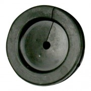 Lockgenomföring PVC 28 mm med hål