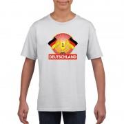 Shoppartners Wit Duitsland supporter kampioen shirt kinderen