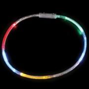 "22"" Rainbow Led Necklaces 25 Pieces"