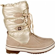 Winter Grip Snowboots Lace Up Taupe Dames Maat 39