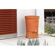 Rezervor Basic + Stand Toscana Water Butt culoare Terracotta 300 lt.