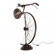 Lampara de pie / sobremesa bicicleta antigua casa de hoy