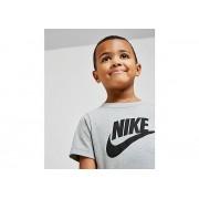 Nike Futura Logo T-Shirt Kinderen - Grey/Black - Kind