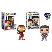 Iron man y Tony Stark Funko pop exclusivo avengers endgame