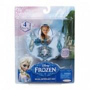 Set bijuterii pentru fetite Frozen Elsa, 4 piese, 3 ani+