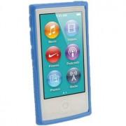iPod Nano 7G iGadgitz Clip'n'Go TPU Case - Blauw
