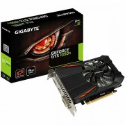 GIGABYTE Video Card GeForce GTX 1050 Ti GDDR5 4GB/128bit, 1290MHz/7008MHz, PCI-E 3.0 x16, HDMI, DVI-D, DP, VGA Cooler Double Slot, Retail GV-N105TD5-4GD