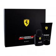 Ferrari Scuderia Ferrari Black подаръчен комплект EDT 75 ml + душ гел 150 ml за мъже