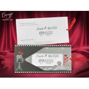 Invitatie nunta cod 5562