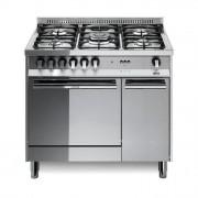 LOFRA MT96GV C Cucina 5 Fuochi con Forno a Gas Ventilato con Grill Elettrico 66Lt Inox