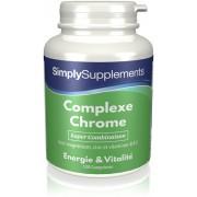 Simply Supplements Complexe Chrome - 120 Comprimés