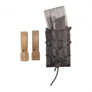 High Speed Gear Magazine Carrier Double Decker Taco Molle Mount - Double Decker Taco Mag Pouch Black