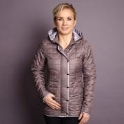 femei jacheta Willsoor 7428 în bej culoare