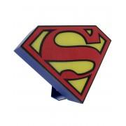 Licensierad Superman Logo Lampa 26x19 cm