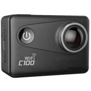 Camera Video Sport Dare C100, Filmare 4K, Wi-Fi, GPS, Subacvatica (Negru)