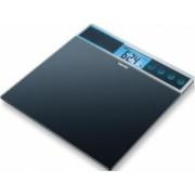 Cantar de sticla Beurer GS39, 150 kg, 4 memorii, functie voce